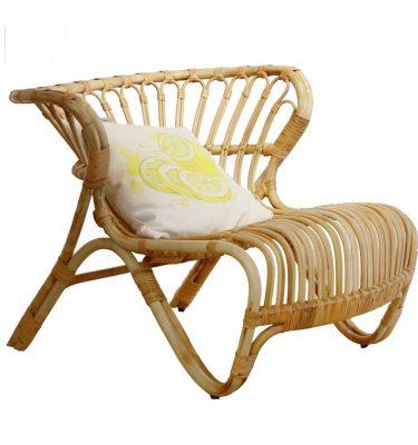 ghế armchair mây