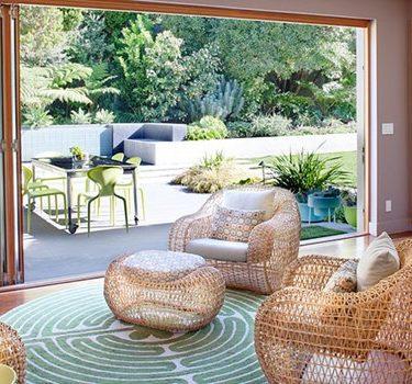 Thiết kế nhà cửa và cách chọn nội thất gần gũi thiên nhiên