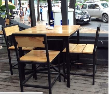 Kích thước các loại bàn ghế cafe nên biết