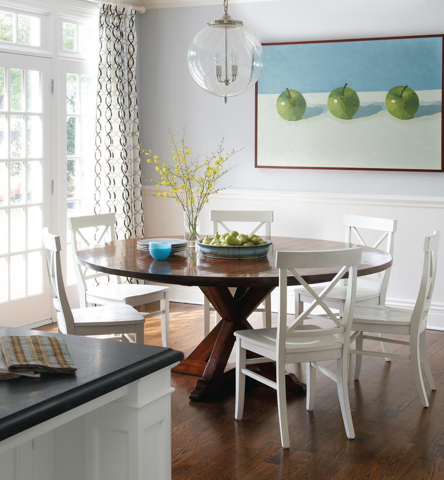 Áp dụng loại bàn ăn có hình tròn