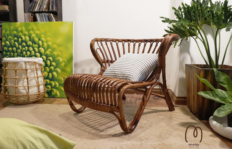 Trang trí nội thất với sản phẩm mây tre đan làng nghề truyền thống