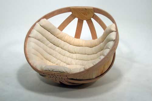 Ghế thư giãn hình tròn êm ái như những chiếc sofa cao cấp nhất
