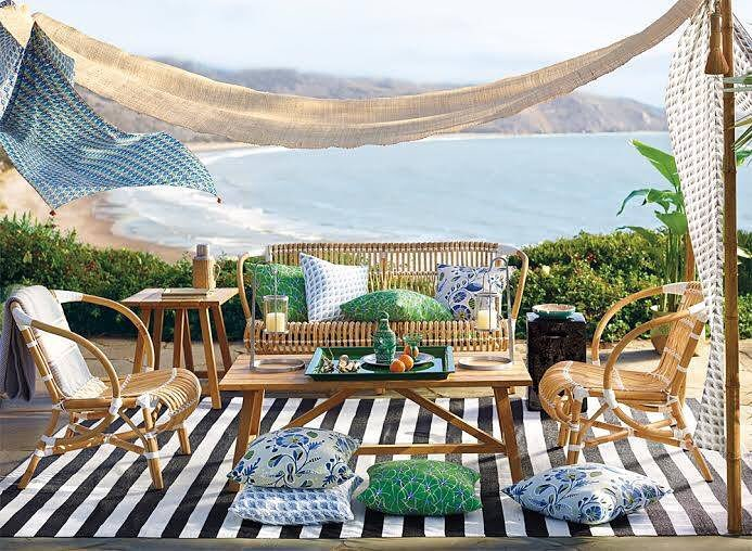 Wicker and Rattan Patio Furniture