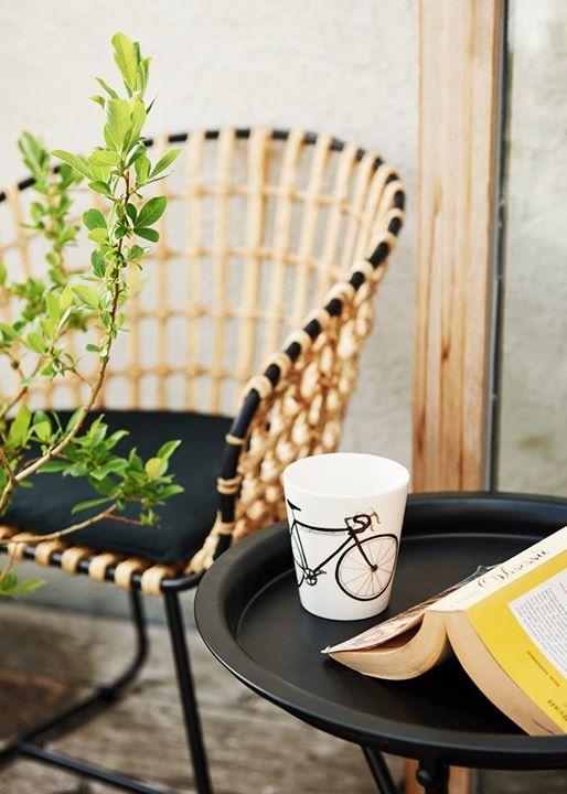 ghế cafe mây