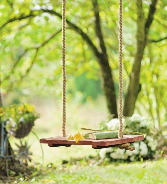 Xích đu dây thừng đẹp đến từ sự giản dị